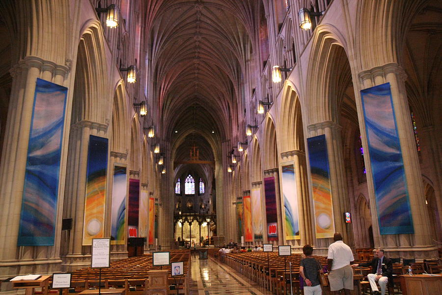 Alter Photograph - Washington National Cathedral - Washington Dc - 011376 by DC Photographer