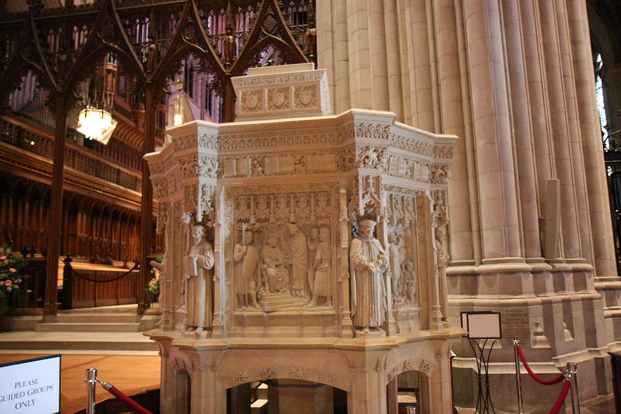 Alter Photograph - Washington National Cathedral - Washington Dc - 011395 by DC Photographer