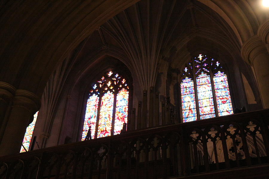 Alter Photograph - Washington National Cathedral - Washington Dc - 011399 by DC Photographer