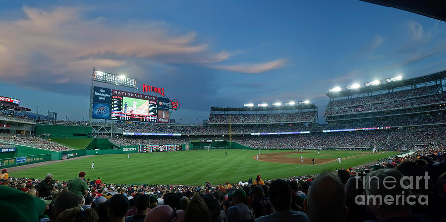 Red Sox Photograph - Washington Nationals In Our Nations Capitol by Thomas Marchessault