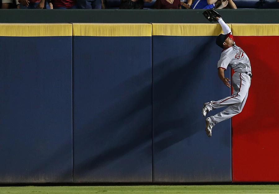 Washington Nationals V Atlanta Braves Photograph by Mike Zarrilli