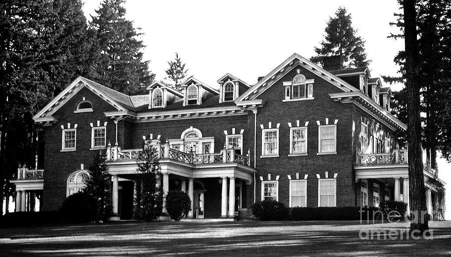 Washington State Governor S Mansion 1920s Photograph By Joe Jeffers