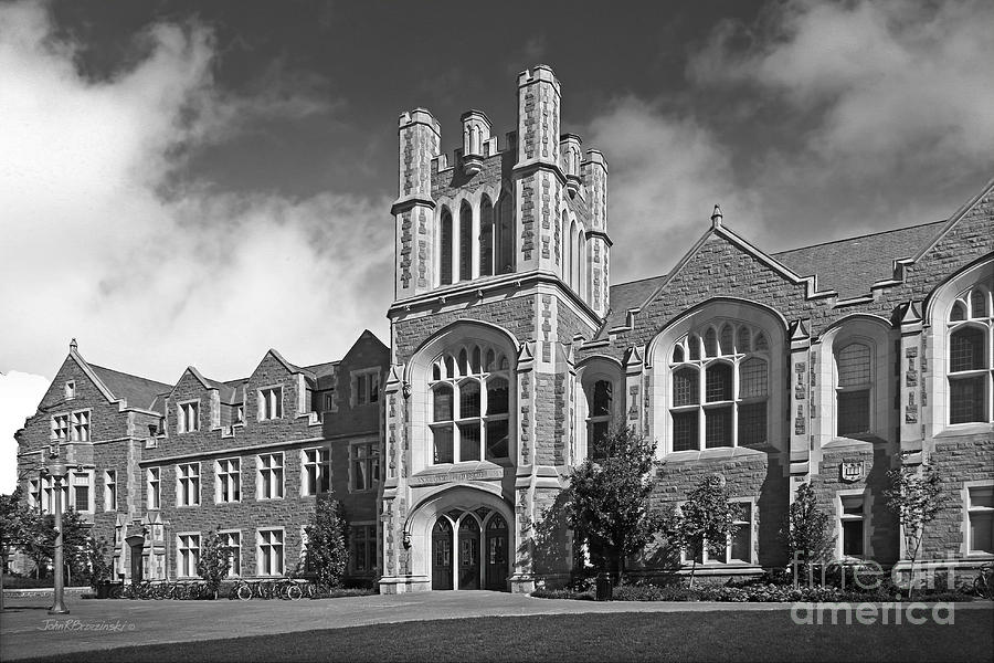 American Photograph - Washington University Anheuser- Busch Hall by University Icons