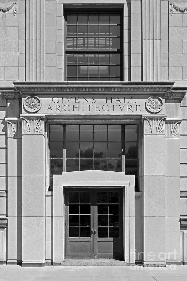 American Photograph - Washington University Givens Hall  by University Icons