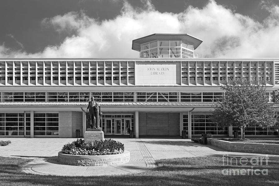 American Photograph - Washington University Olin Library by University Icons