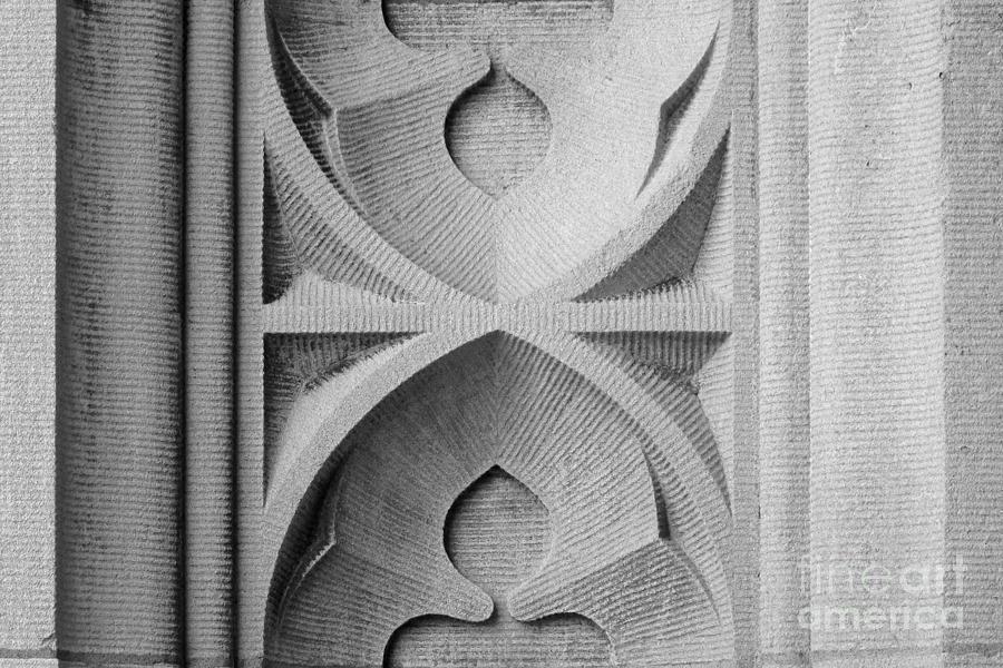 American Photograph - Washington University Stone Detail by University Icons