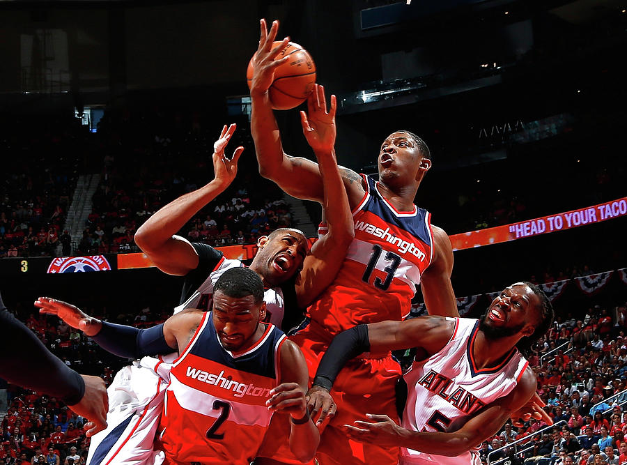 Washington Wizards V Atlanta Hawks - Photograph by Kevin C. Cox