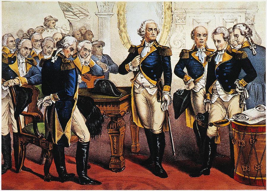 1783 Photograph - Washingtons Farewell by Granger