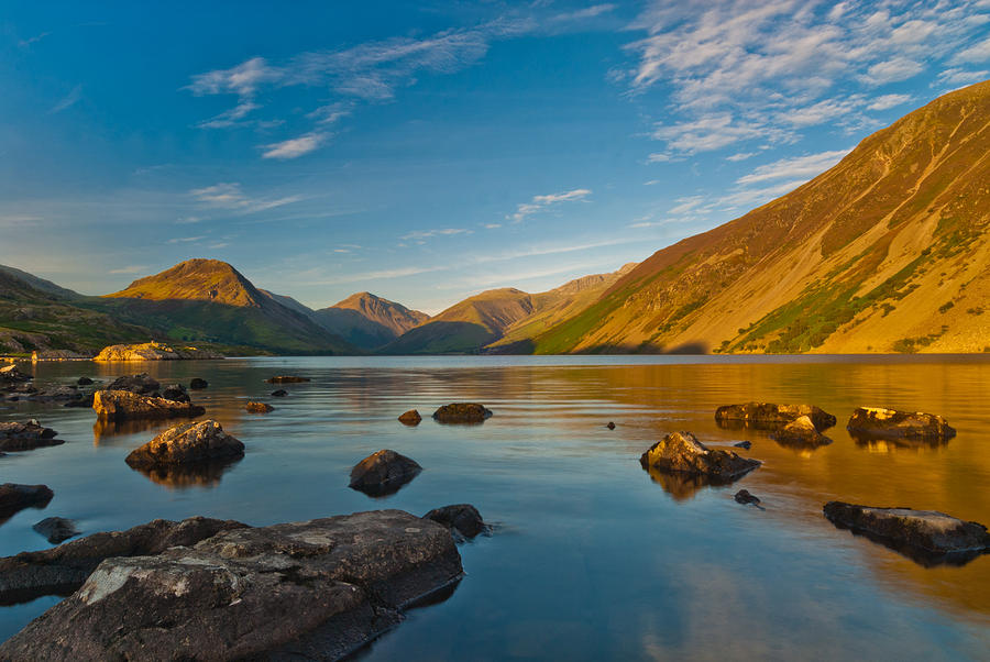 Cumbria Photograph - Wast Water Lake District by David Ross