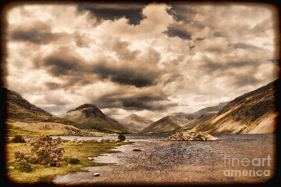 Wast Water Photograph - Wast Water Lake District England by Colin and Linda McKie
