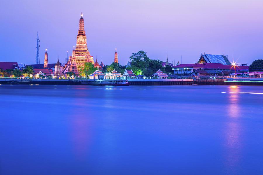 Wat Arun Temple Bangkok Thailand Photograph by Deimagine