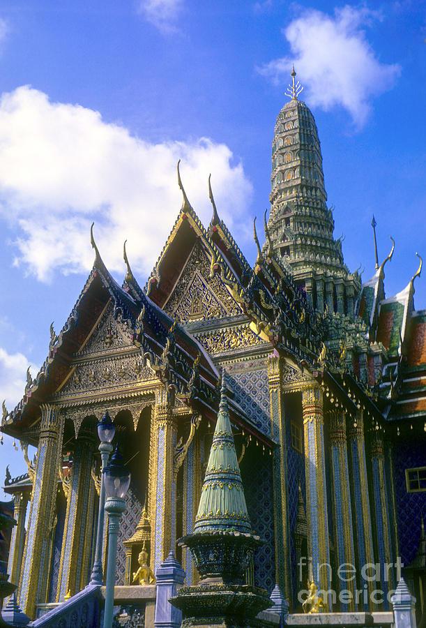 Wat Phra Kaew Photograph by Bob Phillips