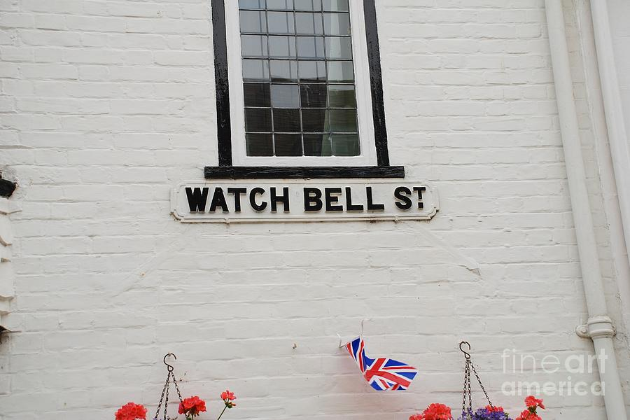 Watch Photograph - Watch Bell Street Rye by David Fowler