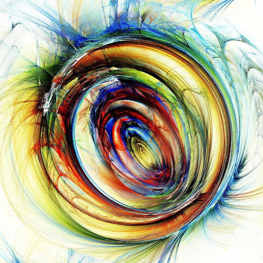 Computer Digital Art - Watchful Eye by Anastasiya Malakhova