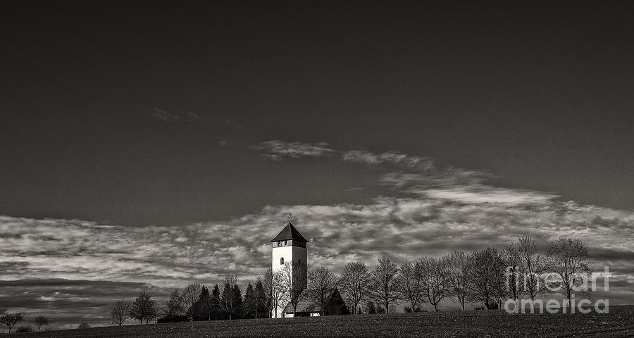 Landscape Photograph - Watching Over Buchheim by Bernd Laeschke