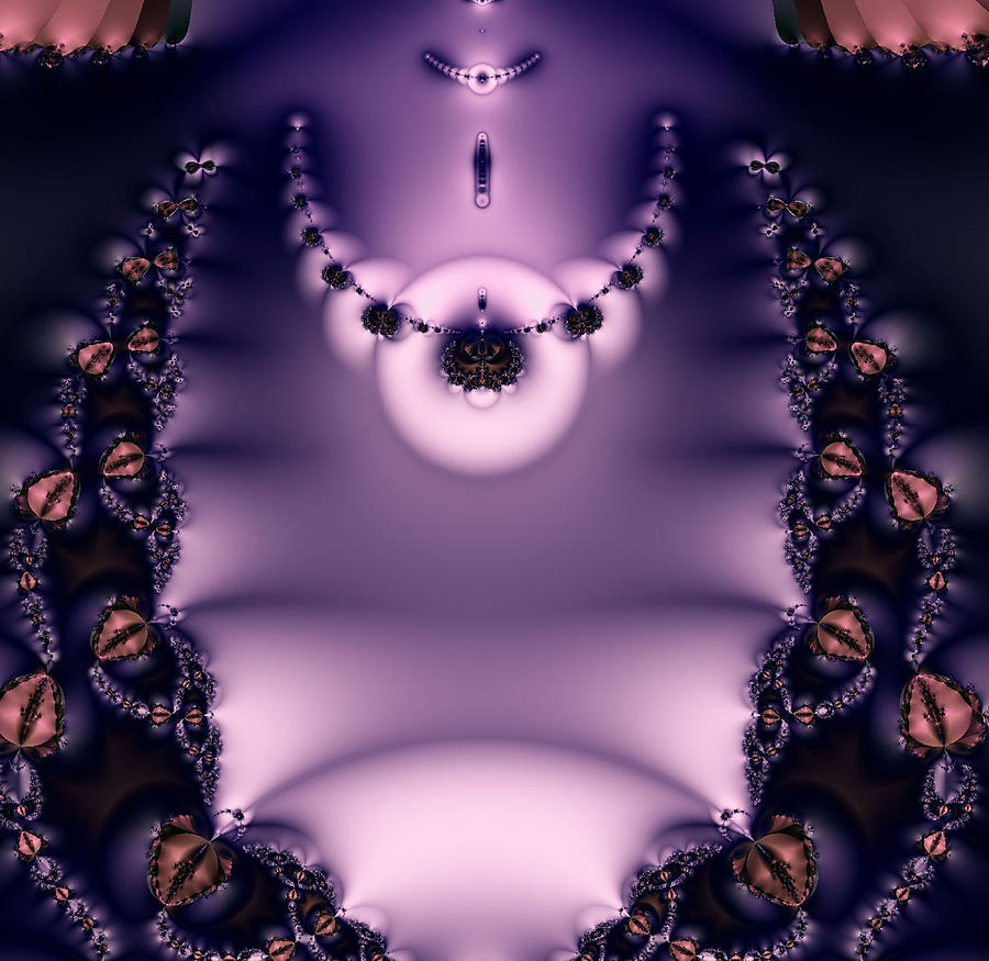 Fractal Digital Art - Watching... by Rhonda Barrett