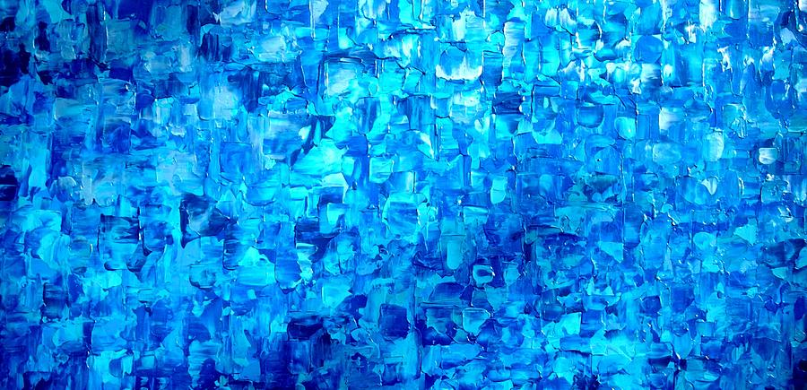 Abstract Painting Painting - Water And Light by Holly Anderson