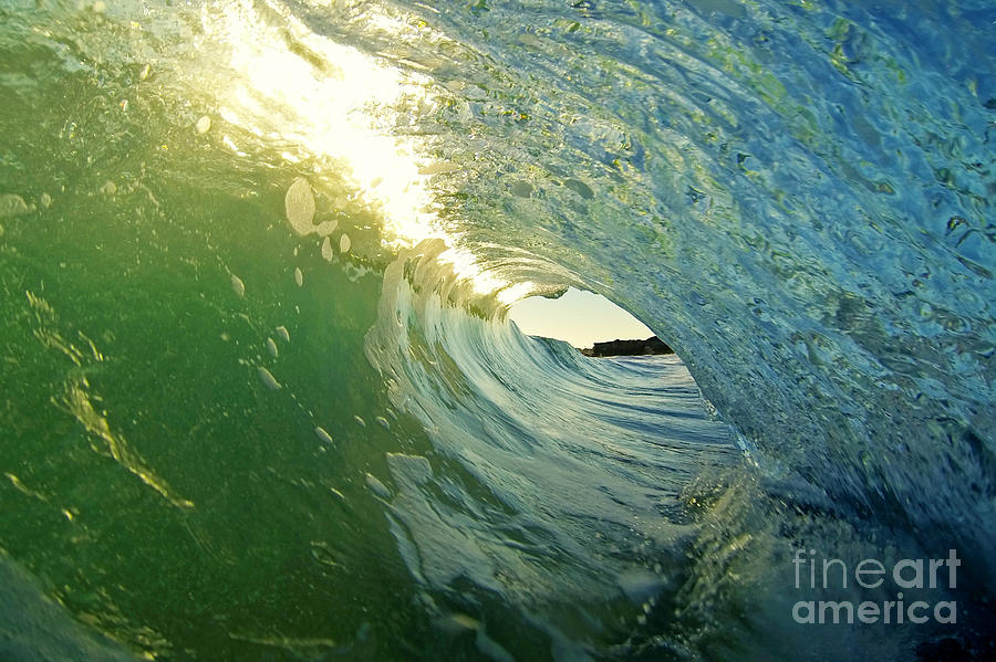Wave Photograph - Water And Light by Paul Topp