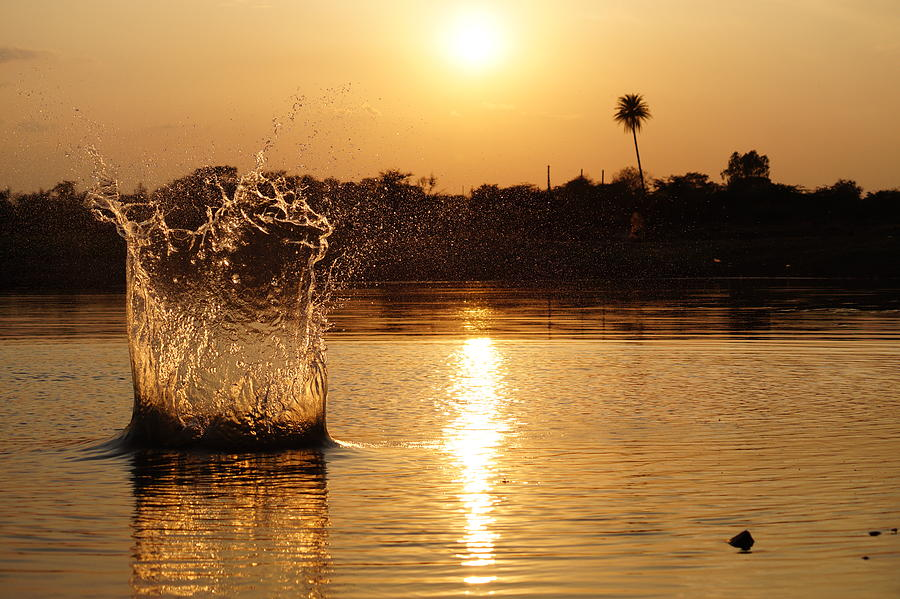 Water Bomb Photograph by Utkarsh Solanki