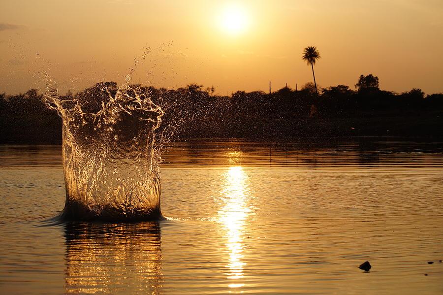 Water Bomb Photograph by Utkarsh Solanki