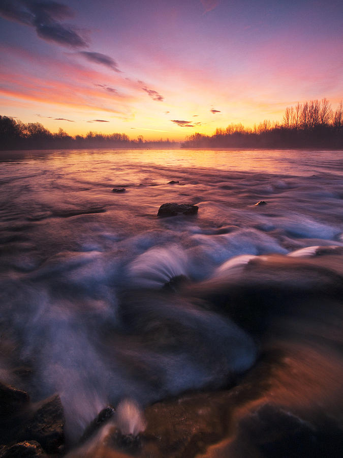 Landscape Photography Photograph - Water Claw by Davorin Mance