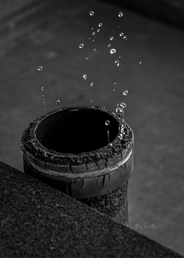 Water Photograph - Water Dripping Up The Spout by Bob Orsillo
