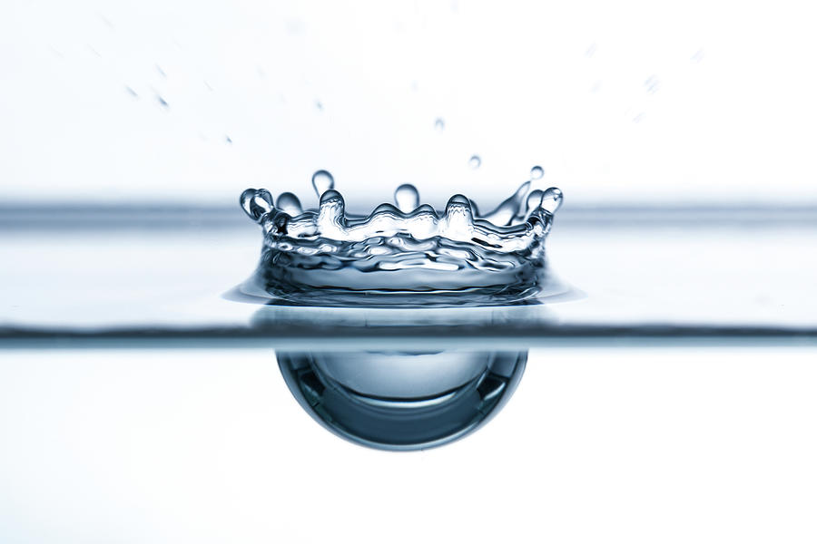 Water Drop Close-up Photograph by Daniel Elliot Photography