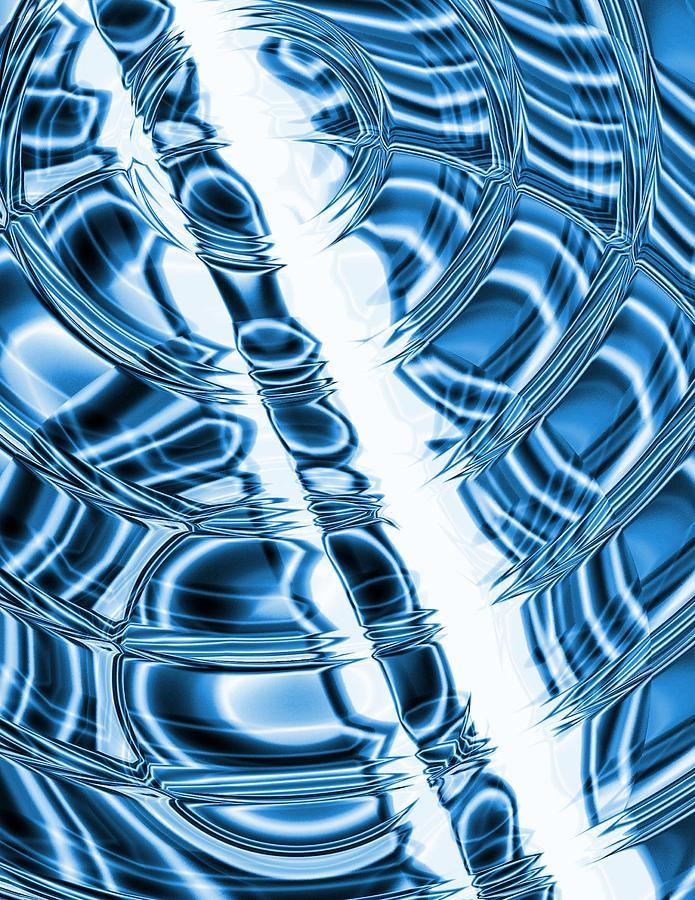 Water Drops Digital Art - Water Drops by Krazee Kustom
