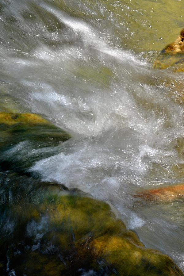 Water Photograph - Water - Flow Of Life 1 by Karen  W Meyer