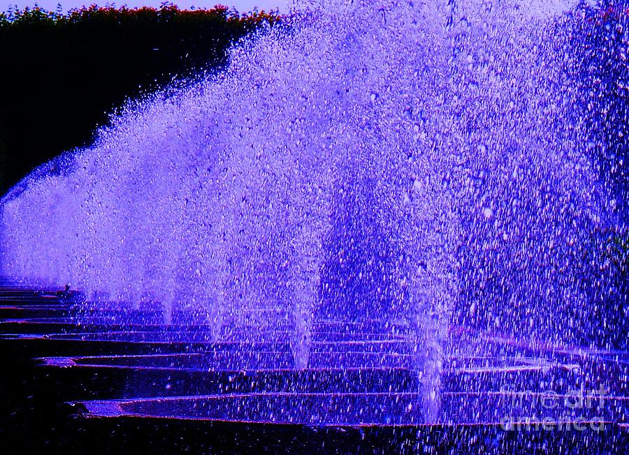 Fountain Photograph - Water Fountain by Eric  Schiabor