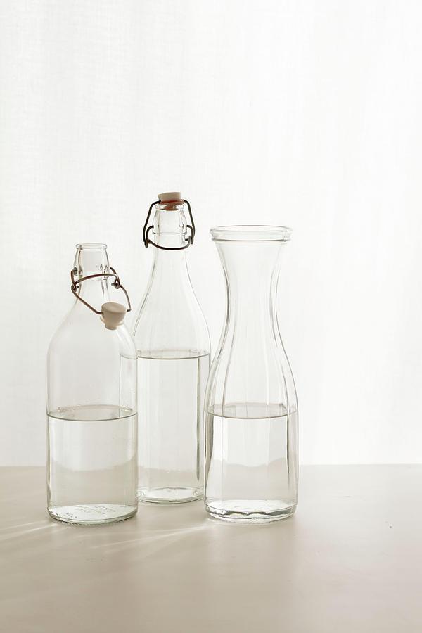 Water Glass Photograph by Renáta Dobránska