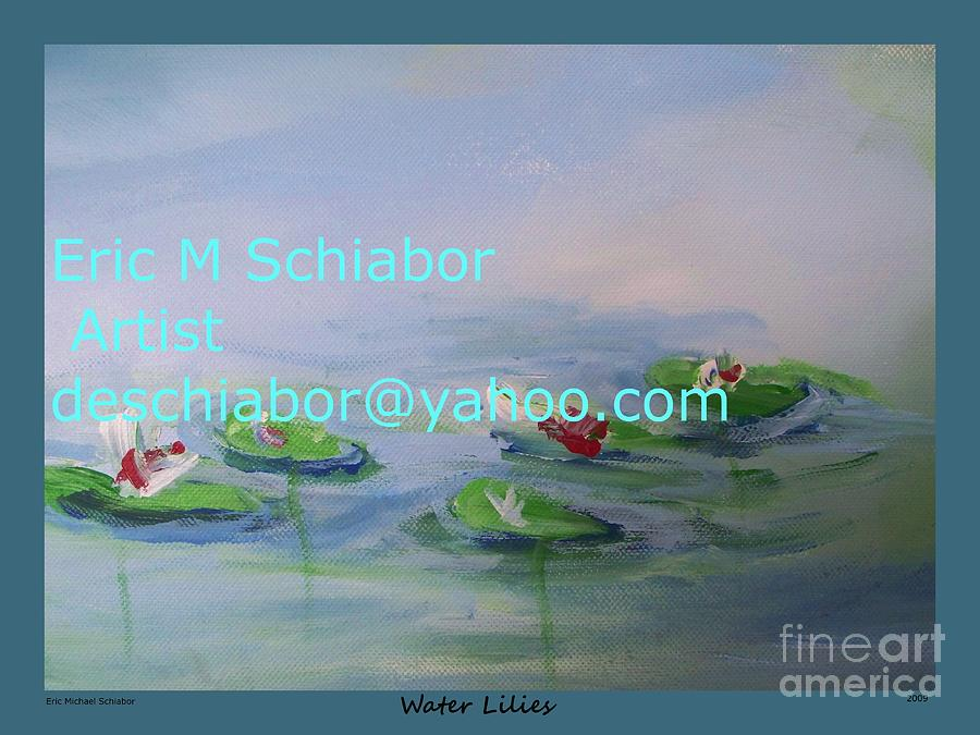 Water Lilies Painting - Water Lilies Print by Eric  Schiabor