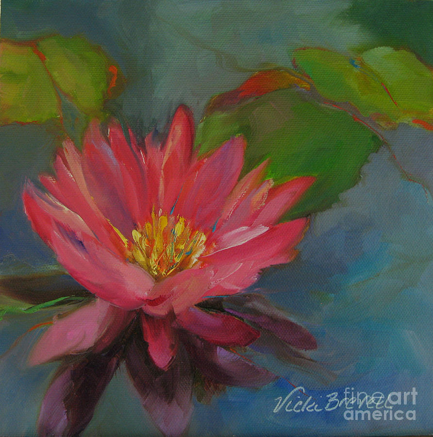 Water Lily II by Vicki Brevell