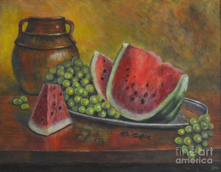Water Melon by Jana Baker