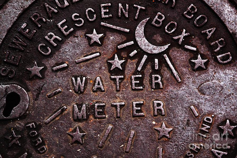 Water Meter Photograph - Water Meter by John Rizzuto