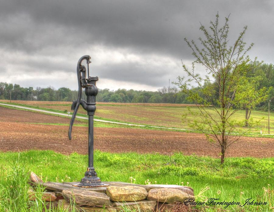 Water Pump by Elaine Farrington Johnson