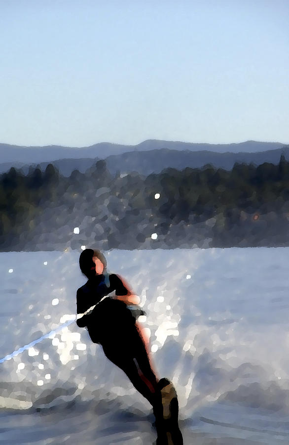 Water Skier Photograph