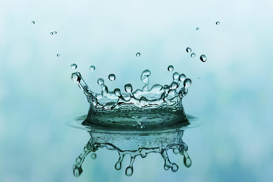 Water Splash Photograph by Trout55