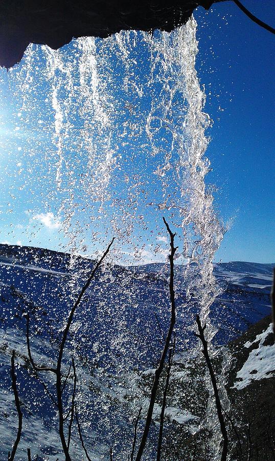 Water Symphony Photograph by Faouzi Taleb