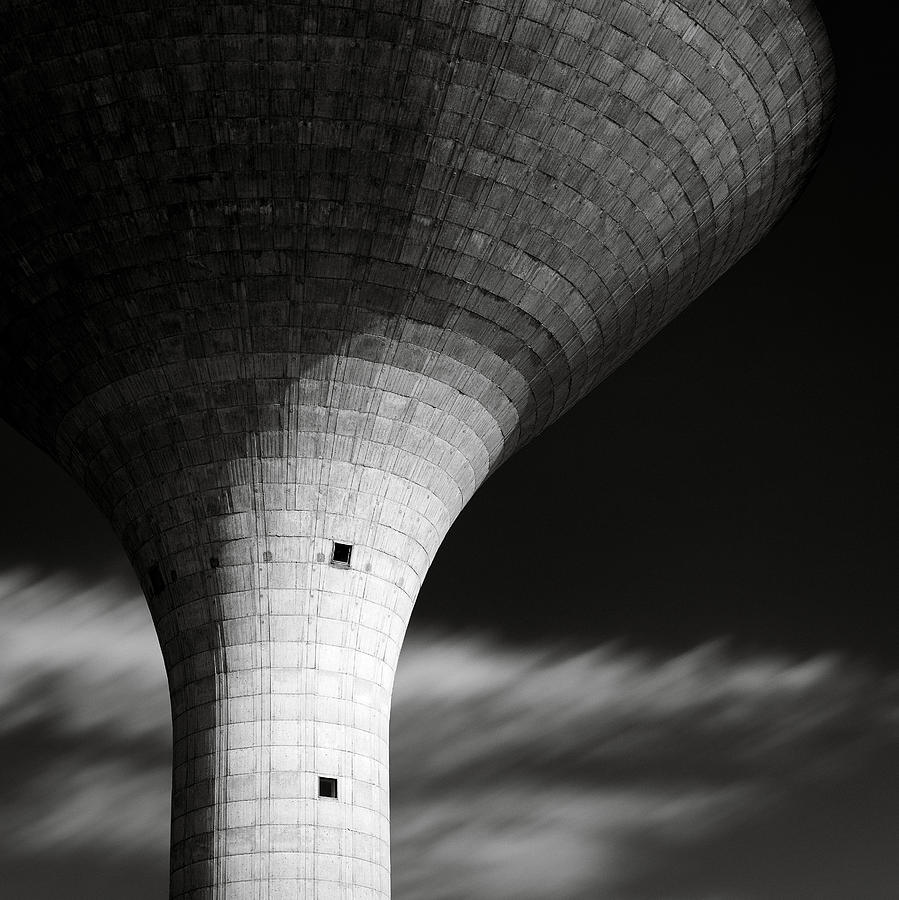 Water Tower Photograph - Water Tower by Dave Bowman