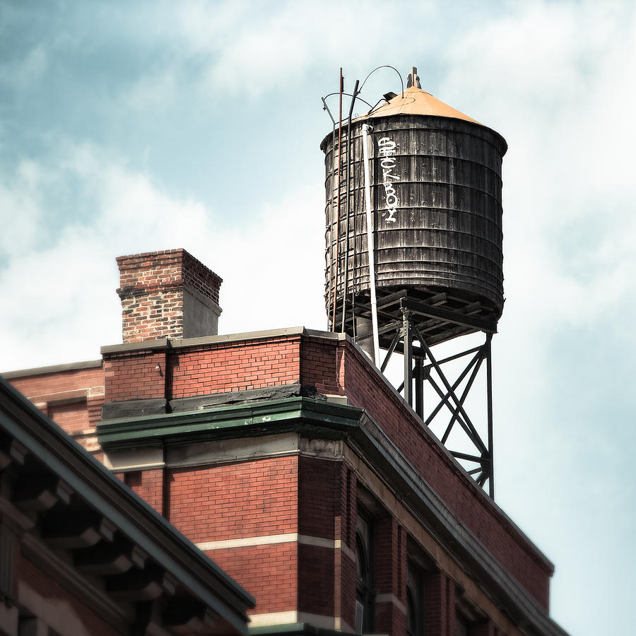 Water Tower In New York City New York Water Tower 13