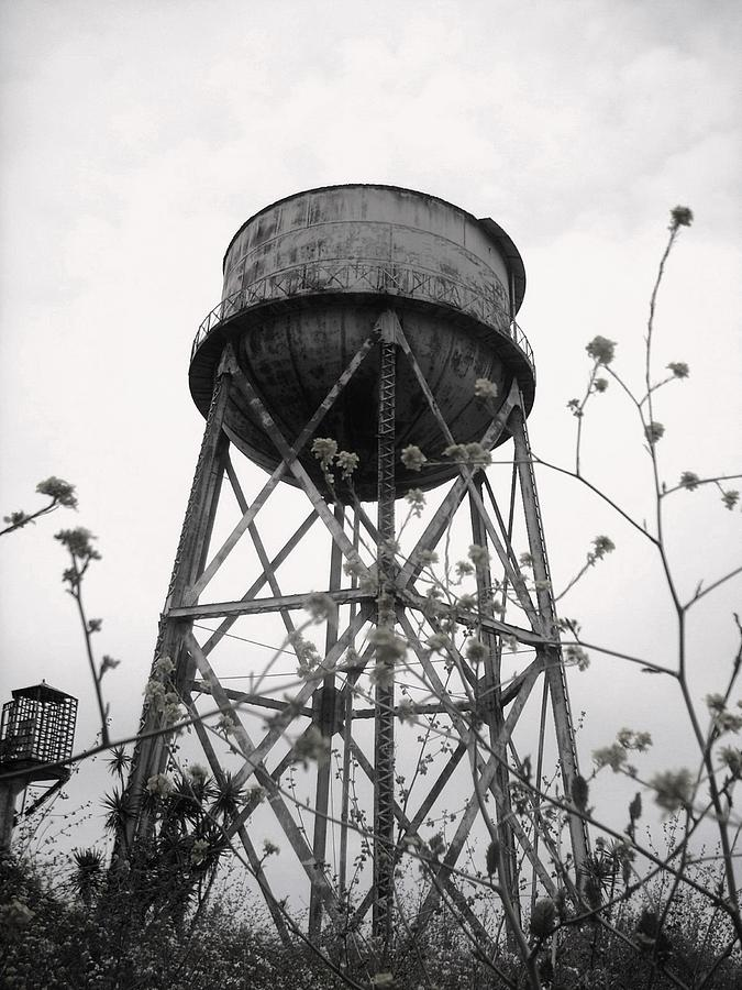 Watertower Photograph - Water Tower by Michael Grubb