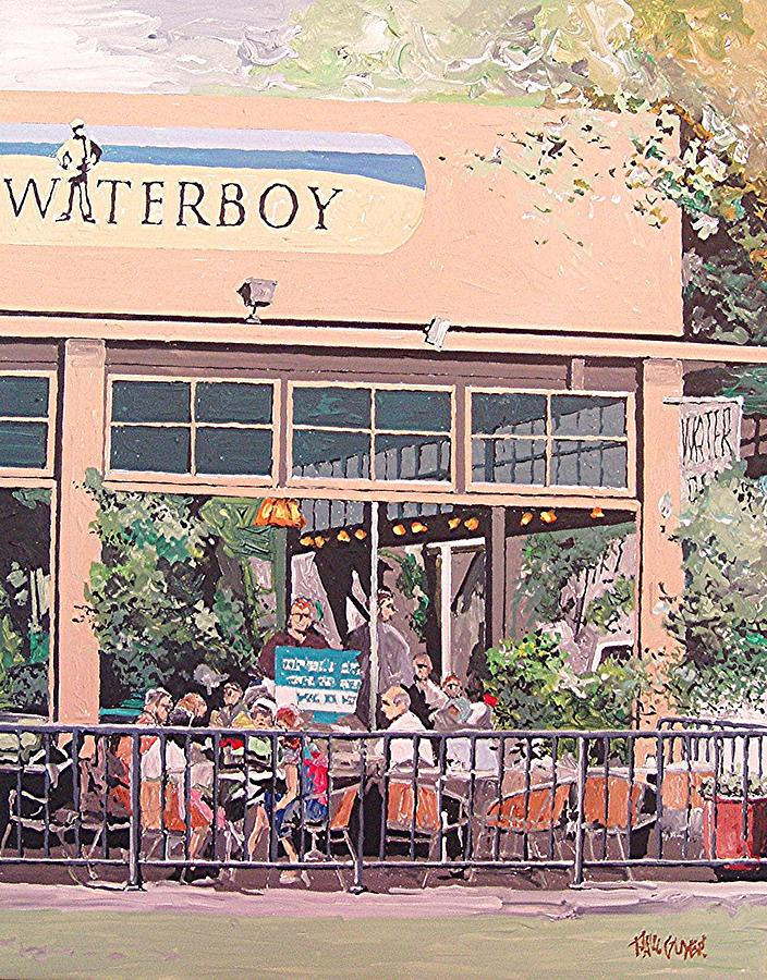 Sacramento Painting - Waterboy by Paul Guyer