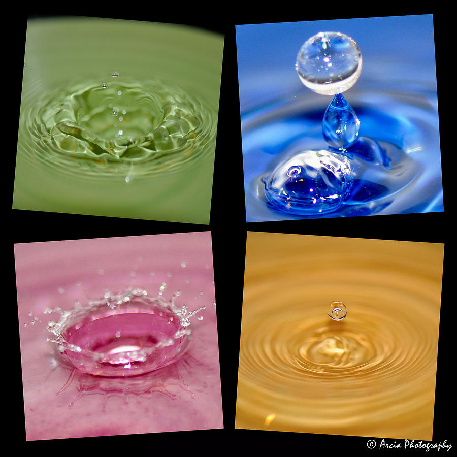 Waterdrops by Ken Arcia