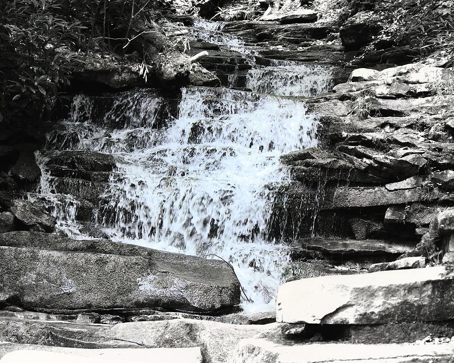 Waterfall Photograph - Waterfall 3 by John Feiser