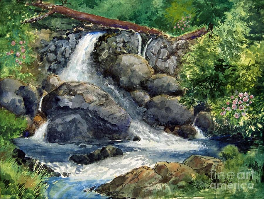 Paintings Of Waterfalls In Oil