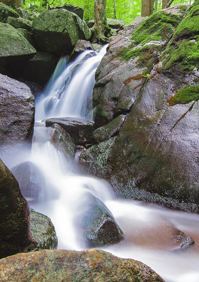 Landscape Photograph - Waterfall by Eduard Moldoveanu
