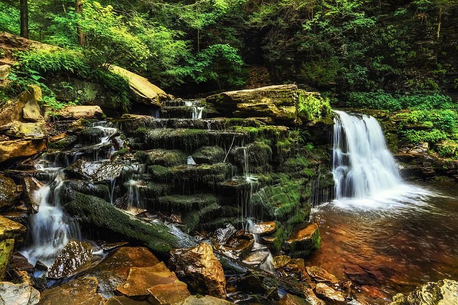 Waterfall Photograph - Waterfall Fantasy by Aaron Smith
