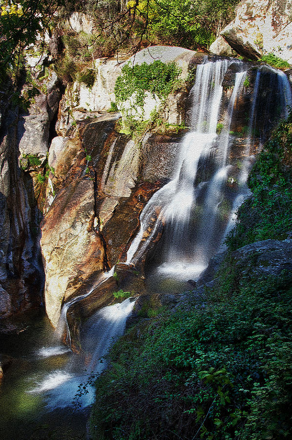 Waterfall Photograph - Waterfall II by Marco Oliveira