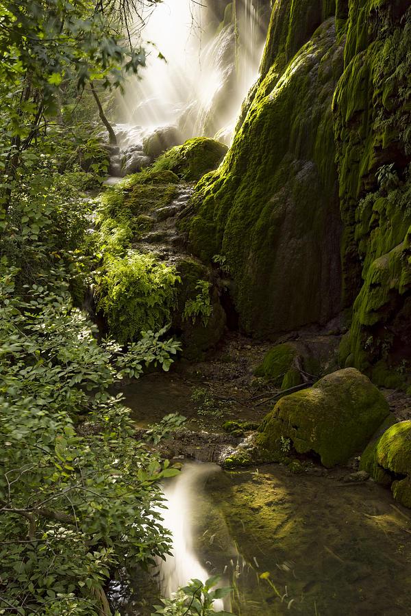 Waterfall Of Light Photograph